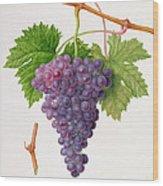 The Poonah Grape Wood Print