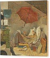 The Poor Poet II Wood Print