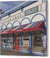 The Popcorn Shop Wood Print by Dale Kincaid