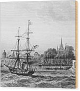The Port Of New Orleans Wood Print