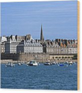 The Port Of St Malo France Wood Print