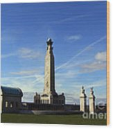 The Portsmouth Naval Memorial Southsea Wood Print