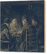 The Potato Eaters, 1902 Wood Print