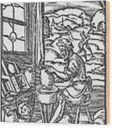 The Potter, 1574 Wood Print