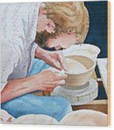 The Potter Wood Print