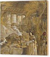 The Praying Cylinders Of Thibet Wood Print