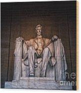 The President Wood Print