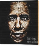 The President Wood Print by The DigArtisT