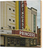 The Princess Theatre Wood Print