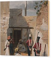 The Prison Of Hadjee Khan Kakus - Wood Print