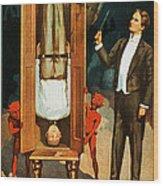 The Prisoner Of Canton Wood Print