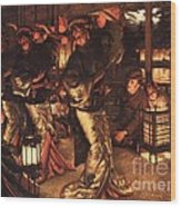 The Prodigal Son In Foreign Climes Wood Print by Pg Reproductions