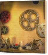 The Projection Room 4675 Wood Print