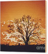 The Promise Of A New Day Wood Print