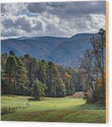The Promised Land Cades Cove Wood Print