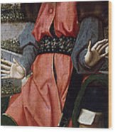 The Prophet Zachariah Wood Print