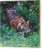 The Prowler Wood Print
