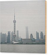 The Pudong Wood Print