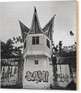 The Pudu Prison Wood Print