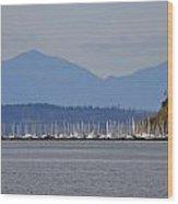 The Puget Sound Wood Print