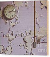 The Purple Room Wood Print