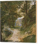 The Pyrenees Wood Print