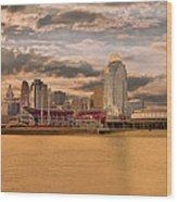 The Queen City Cincinnati Wood Print