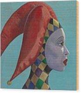The Queen Wood Print by Leonard Filgate