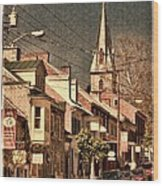 The Quintessential Semiquincentennial - Shepherdstown Wv  Wood Print