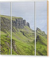 The Quiraing Triptych Wood Print