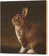 The Rabbit Wood Print