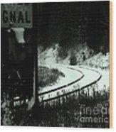 The Rail To Anywhere Wood Print