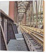 The Rails I Wood Print