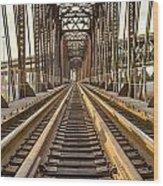 The Rails II Wood Print