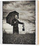 The Rainmaker Wood Print