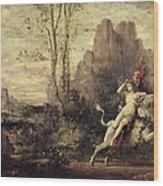 The Rape Of Europa Wood Print