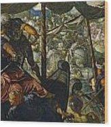 The Rape Of Helen Wood Print