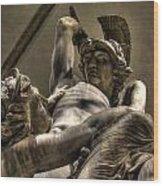 The Rape Of Polyxena Wood Print