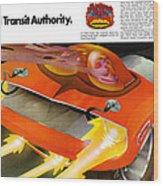 The Rapid Transit Authority Wood Print