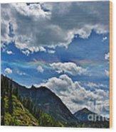 The Rare Phenomena Rainbows Wood Print