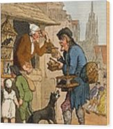 The Rat Trap Seller From Cries Wood Print