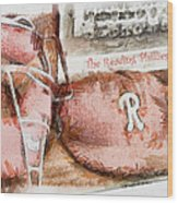 The Reading Phillies Wood Print