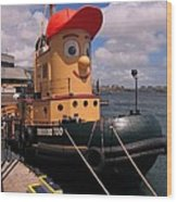 The Real Theodore Tug Boat Lives In Halifax Wood Print