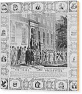 The Rebels Of 76 Wood Print