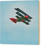 The Red Baron Wood Print