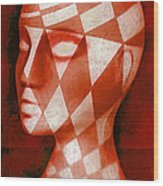 The Red Phantom Wood Print