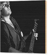 The Red Rocker In Spokane 1978 Wood Print