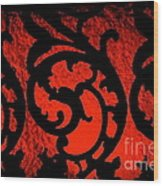 The Red Room Wood Print