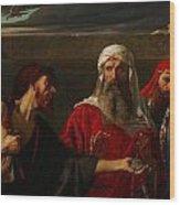 The Remorse Of Judas Wood Print