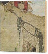 The Rescue Circa 1916 Wood Print